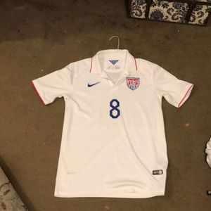 MEN'S USA SOCCER JERSEY DEMPSEY #8 AUTHENTIC NIKE